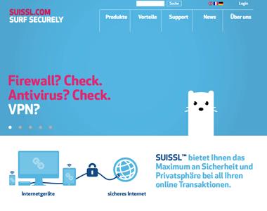 VPN-Anbieter Suissl