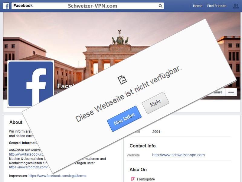 facebook sperre umgehen china