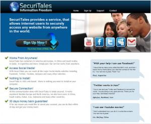 SecuriTales Facebook Proxy